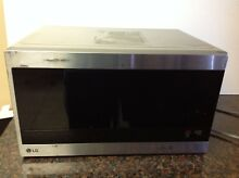 LG LMC1575ST 1 5 cu  ft  NeoChef Countertop Microwave   Works
