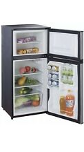 Magic Chef 4 3 cu  ft  Mini Compact Dorm Office Refrigerator Freezer in Black