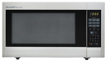 SHARP SENSOR MICROWAVE OVEN 2 2 CU  FT  1200 W   R651ZS