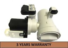 W10130913 OEM Whirlpool Washer Drain Pump And Motor Assembly