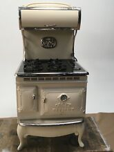 Elmira Stove Works 1870 4 burner gas   electric range