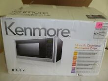 EUC Kenmore P11043APH WJS 1 6 Cu Ft 1100W Microwave Oven Stainless Steel    P103