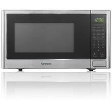 Kenmore 0 9 cu  ft  Microwave Oven   Stainless Steel