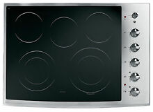GE Profile PP944STSS 30  Electric Cooktop
