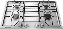 FRIGIDAIRE 30  GAS COOKTOP STAINLESS STEEL 4 SEALED BURNERS   FFGC3010QS