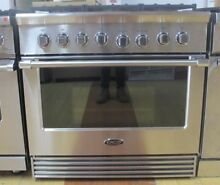 DCS  RGV2366N 36 Inch Gas Range  5 3 Cu  Ft  Convection Oven