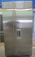 Sub Zero  BI42SDSTH 42 Inch Built in Side by Side Refrigerator