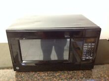 GE 1 4 Cu  Ft  Countertop Microwave Oven   JES1460DSBB