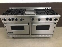 Viking 60  Range VGRC605 6GQDSS Gas 6 Burners Professional   Griddle   Grill