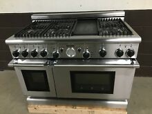 Thermador PGR486GDZS 48  Gas Professional Grand Range 6 Burners   Griddle