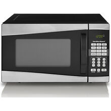 Hamilton Microwave Oven  Smaller Size  Safe For Dorm Rooms  Black Free Shipping