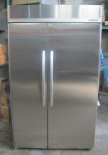 KSSC48FTS02 KitchenAid Architect 48  Built In SxS Refrigerator   Stainless