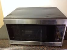 LG LCRT2010ST Microwave Oven   Stainless steel   1200 Watt    Dented