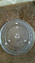 GE MICROWAVE  GLASS TURNTABLE  PART WB49X10063  14 1 8  DIAMETER