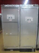 Miele MasterCool Series 60  Side by Side Refrigerator Freezer Panel Ready