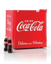 Timeless Limited  ED Coca Cola 1 7 Cu Ft Refrigerator With Freezer Compartment