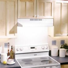 Broan 21W in  Ventless Under Cabinet Range Hood  White