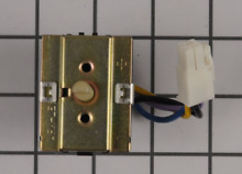 4456836 WHIRLPOOL Cooktop downdraft vent fan control switch