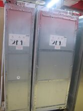 Miele 48  Built In Side by Side Refrigerator Freezer Columns Custom Panel Ready