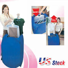 New Portable Electric Clothes Drying Machine Fast Dryer Folder Dryer Bag Home US