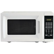 Microwave Oven Countertop Small White Compact Mini Home Kitchen Appliance Cooker