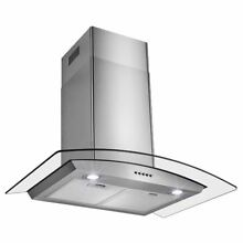 Range Hood 30 Inch Ventless Non Vented Ductless Hoods Kitchen Wall Convertible