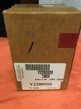 OEM Y2200920 Crosley Dryer Timer