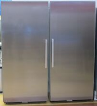 Miele MasterCool Series 72  Side by Side Refrigerator Freezer Stainless Steel