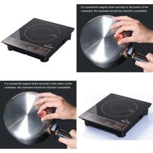 Portable Induction Cooktop Countertop Burner Lightweight and Compact 1800W Gold