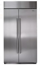 Sub Zero  BI42SSPH 42 Inch Built in Side by Side Refrigerator