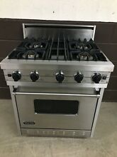 VIKING VGIC307 4BSS 30  Professional Gas Range Oven 4 Burner Stainless Steel