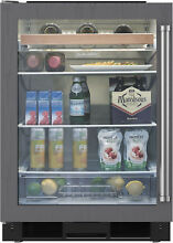 Sub Zero UC24BG O LH 24  Built In Undercounter Beverage Center Panel Ready