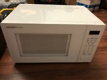 Sharp SMC1131CW Carousel 1 1 Cu  Ft  Mid Size Microwave   White LOCAL PICKUP