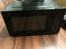 Whirlpool WMC50522AB 2 2 Cu  Ft  Black Countertop Microwave
