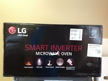 LG LMC1575SW   NeoChef 1 5 Cu  Ft  Mid Size Microwave   Smooth white