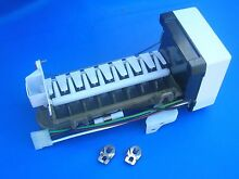 Icemaker unit Genuine OEM Whirlpool   4317943   support  WH  cover   SS clips