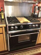 Dynasty Commercial 36  Gas Range w Convection Oven
