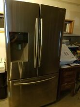 SAMSUNG RF263BEAESR 25 6 cu  ft  Capacity  FRENCH DOOR REFRIGERATOR  NEW