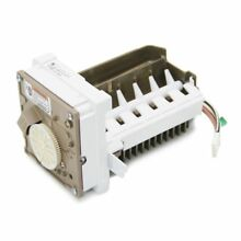 Refrigerator Ice Maker Assembly Part   WPW10251076   OEM Factory Part