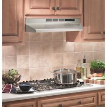 Under Cabinet 30  Range Hood Non Vented Stainless Steel 2 Speed Filter System