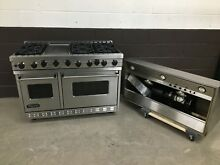 Viking 48  PRO Range Stove VGSC4856GSS Gas 6 Burners   Griddle Stainless Steel