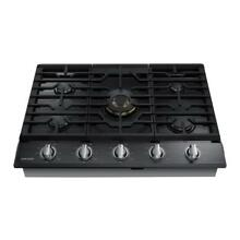 Samsung 36  Gas Cooktop 5 Burners Dual Brass Power Burner   NA36K7750TG WIFI NEW