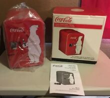 Coca Cola Retro Personal Mini Fridge Thermoelectric Cooler Koolatron