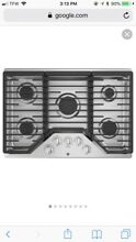 GE Profile JGP 5030 SLSS  30 in  Built In Gas Cooktop Stainless Steel New
