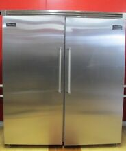 Viking 72  Built in Refrigerator and Freezer Columns VCFB364LSS and VCRB364RSS