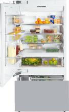 Miele KF1913VI 36  Built in Bottom Freezer Refrigerator Left Hinge Custom Panel