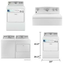 Kenmore 65132 7 0 Cu  Ft  Electric Dryer With Smartdry Plus Technology In White