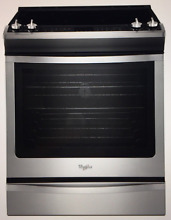 Whirlpool Gold Smooth Surface 5 Element Electric Slide In Range WEE730H0DS  Whir