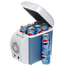 PORTABLE CAR FRIDGE   COOLS AND WARMS