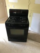 Frigidaire Classic Series Gas Stove And Oven Combo Black